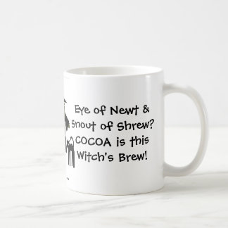 Cocoa is this Witch's Brew! A Cheeky Witch Mug