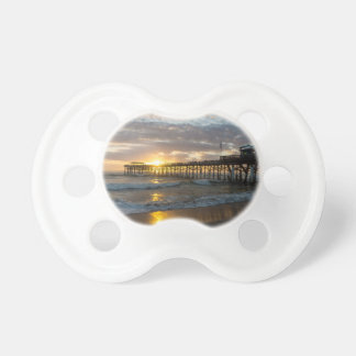 Cocoa Pier 1st Sunrise 2017 Baby Pacifier