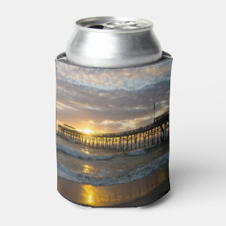 Cocoa Pier 1st Sunrise 2017 Can Cooler