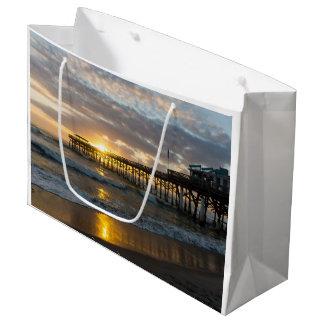 Cocoa Pier 1st Sunrise 2017 Large Gift Bag