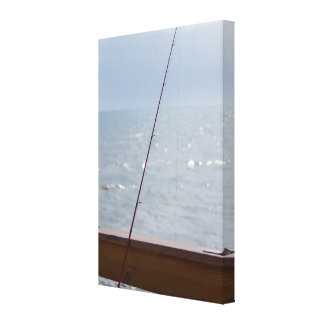 Cocoa Pier Fishing Canvas Print