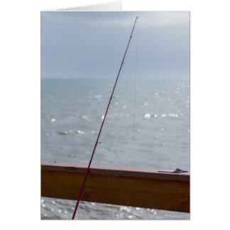 Cocoa Pier Fishing Card