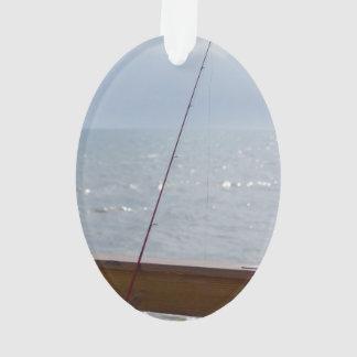 Cocoa Pier Fishing Ornament