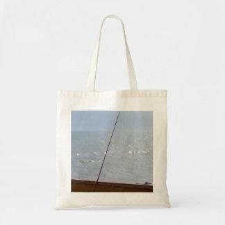 Cocoa Pier Fishing Tote Bag