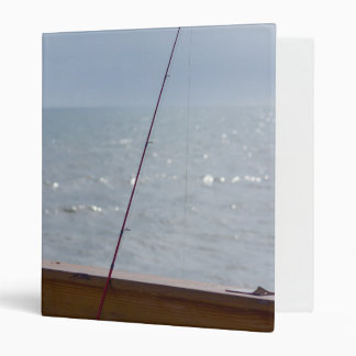Cocoa Pier Fishing Vinyl Binders