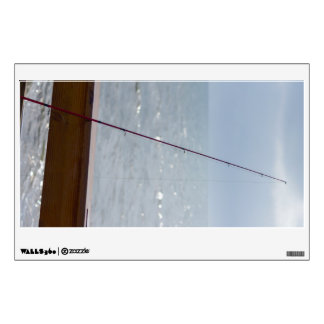 Cocoa Pier Fishing Wall Decal
