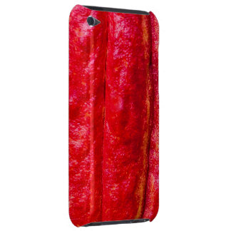 cocoa pod red iPod touch case