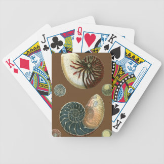 Cocoa Shell Bicycle Playing Cards