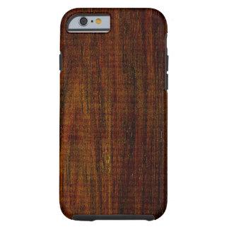 Cocobolo Wood Grain Tough iPhone 6 Case