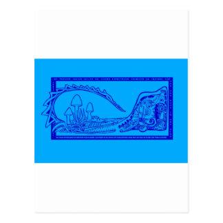 cocodrilo tarjetas postales