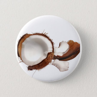 Coconut 2 Inch Round Button