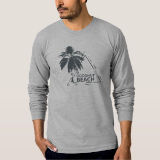 Coconut Beach rubber stamp. T-Shirt