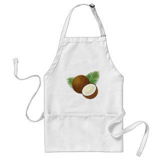 Coconut Cartoon Standard Apron