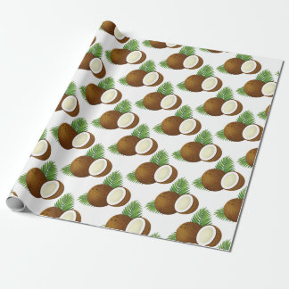 Coconut Cartoon Wrapping Paper