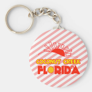 Coconut Creek, Florida Keychain
