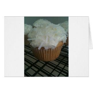 Coconut Cupcakes! Card