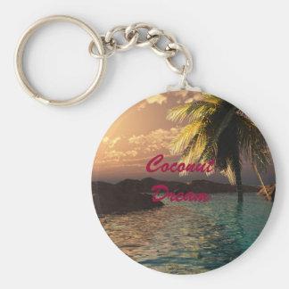 Coconut Dream Keychain