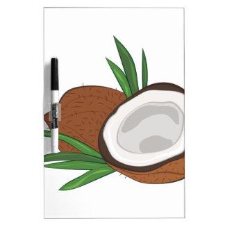 Coconut Dry Erase Board