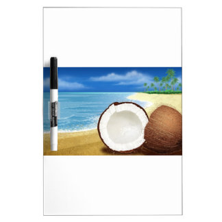 Coconut Getaway Dry Erase Whiteboards