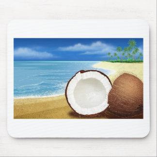 Coconut Getaway Mouse Pad