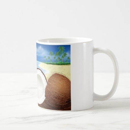 Coconut Getaway Coffee Mug