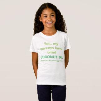 Coconut Oil Shirt for Skin Disorders (Polite)