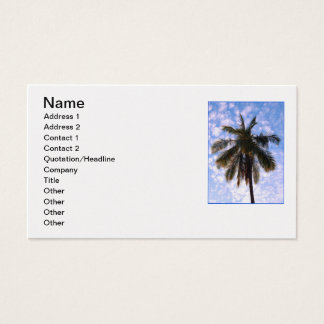 Coconut Palm Business Card