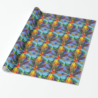 Coconut Palm Tree Tiled Wrapping Paper #1