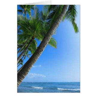 Coconut Palms Card