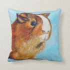 Coconut the Guinea Pig Throw Pillow