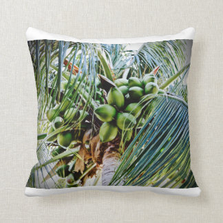 Coconut - Throw Pillow - Caribbean.