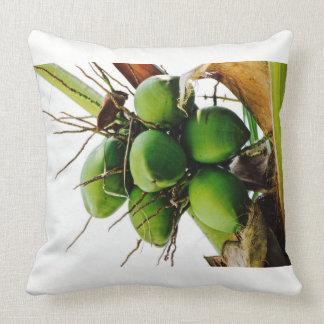 Coconut Tree - Caribbean Island - Throw Pillow