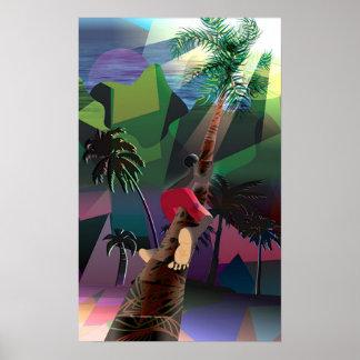 Coconut Tree Poster