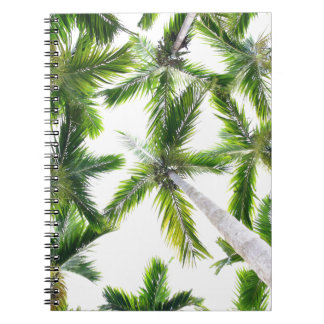 Coconut Trees Notebook