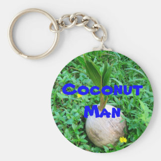 CoconutMan  Key-Chain Keychain