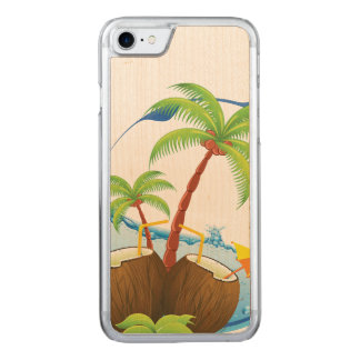 Coconuts Carved iPhone 8/7 Case