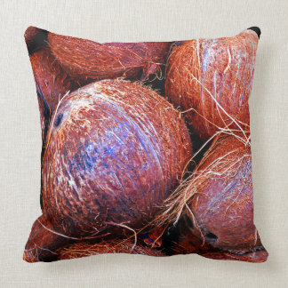 Coconuts In A Shell Throw Pillow