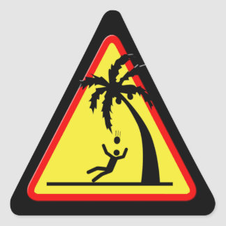Coconuts Kill Logo - Sticker Set of 20