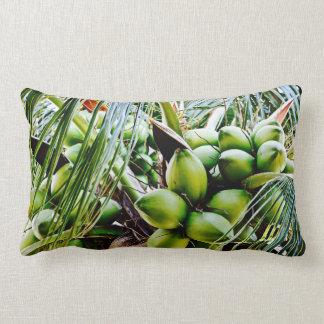 Coconuts - Lumbar Pillow - Caribbean Island