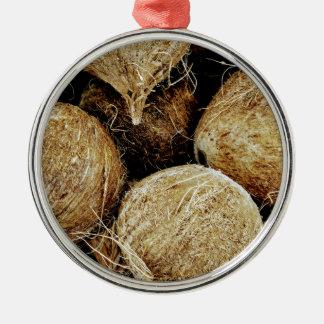 Coconuts Metal Ornament