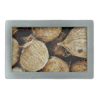 Coconuts Rectangular Belt Buckles