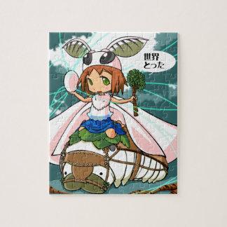 Cocoon God! Silkworm English story Tomioka Silk Jigsaw Puzzle