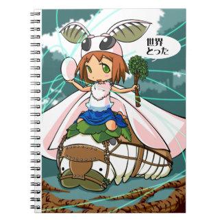 Cocoon God! Silkworm English story Tomioka Silk Notebooks
