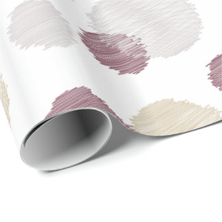 Cocoon Pattern Wrapping Paper