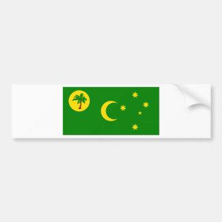 Cocos Islands Bumper Sticker