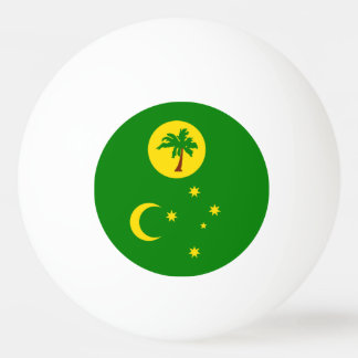 Cocos Islands Flag Ping Pong Ball