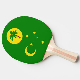 Cocos Islands Flag Ping-Pong Paddle