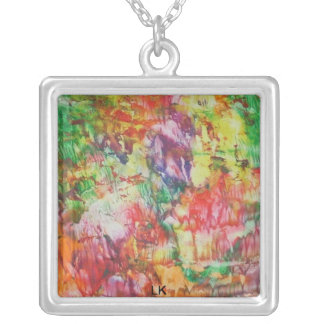 cocos jewels silver plated necklace