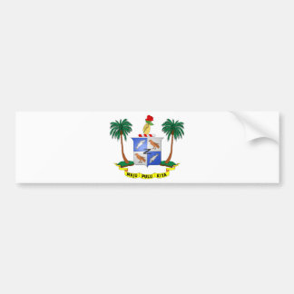 Cocos (Keeling) Islands Coat of arms CC Bumper Sticker