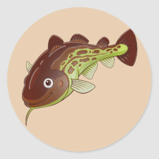 Cod Classic Round Sticker